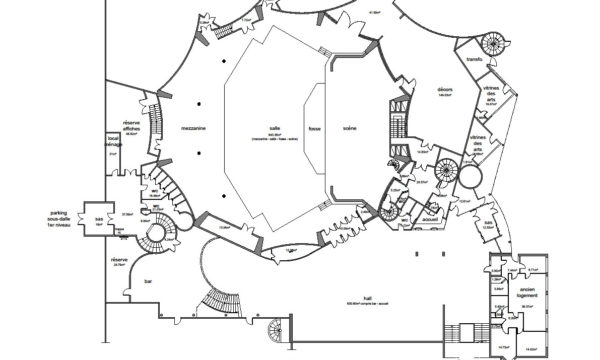 plan archi TCD